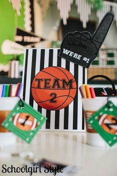 Team / Sports classroom theme by Schoolgirl Style  www.schoolgirlstyle.com