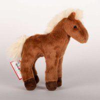 Mr. Brown 8 Chestnut Plush Horse