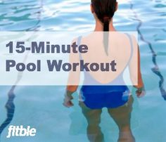 Shape up while you cool down this summer with this fast and firming underwater toning routine.   Fitbie.com