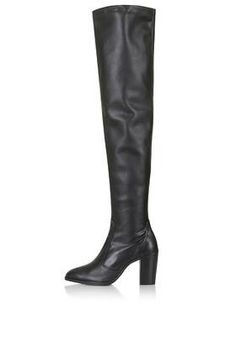 COMMANDER Thigh High Boots