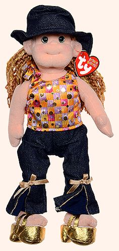 Happy Hanna - doll - Ty Beanie Boppers Beanie Babies 4e4c22f3f45f