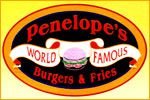 Penelope's Burgers and Fries in Estes Park in 2010 with my family