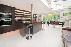 Light & Space. Roderick Road, London NW3. Sale house via Olivers Estate Agents Hampstead.