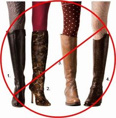 What+Not+to+Wear+to+a+Job+Interview...Boots.jpg 340×347 pixels