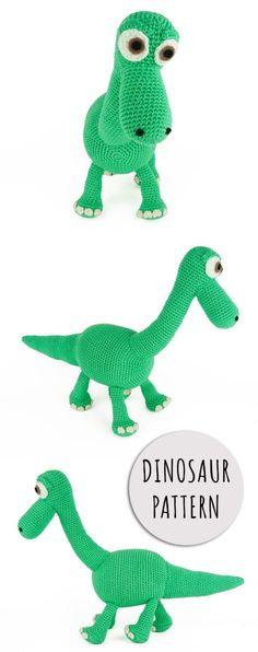 Amigurumi Dinosaur Pattern