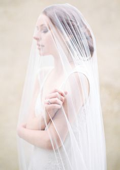 Sibo Designs 2014 Lookbook Part 3…Styled on location in Tuscany. Sheer tulle veil, gown by Patrick Casey. Photography: Brumley and Wells, Styling: Ciara O'Halloran