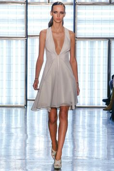 Cushnie et Ochs FW15 | the dress is a definite yes. the shoes, on the other hand, are an ABSOLUTELY.