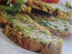 Polpettone patate e zucchine Veggie Recipes, Healthy Recipes, Veggie Food, Biscotti, Avocado Toast, Quiche, Buffet, Food And Drink, Veggies