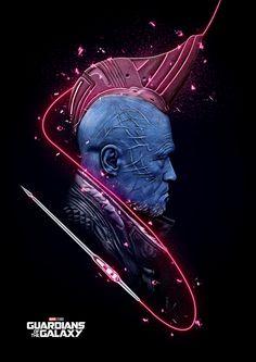 Yondu Guardiões da galáxia