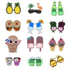 3fa0de9e0be  2.56 - Funny Sunglasses Glasses Hawaiian Summer Fancy Dress Hen Stag Party  Accessory  ebay