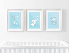 These cute & adorable nursery prints are made with high quality classic silk. All three posters are included in this set of 3 nursery prints. Ideal for baby boy and the perfect cute gift for anyones baby shower! Perfectly accented with a high quality cardboard backed envelope for nursery prints. Baby Nursery Neutral, Nursery Decor Boy, Baby Room Decor, Nursery Prints, Nursery Room, Girl Nursery, Nursery Ideas, Room Ideas, Baby Boy Rooms