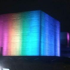 Pride facade lighting. London Jul 2017. #gaypride #london #london2017 #rainbow #lighting #animated #lgbt #equality #picoftheday #nofilter