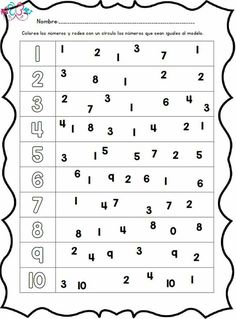 This pin was discovered by lizard lizard. Numbers Preschool, Preschool Printables, Math For Kids, Lessons For Kids, School Worksheets, Video Games For Kids, Toddler Learning, Quotes For Kids, Education Quotes