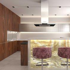 Дизайн кухни в загородном доме в Испании