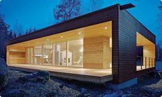 Contemporary eco home