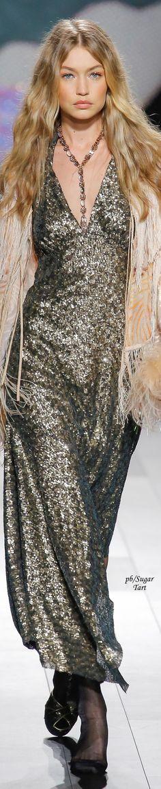 Gigi Hadid for Anna Sui Spring 2018
