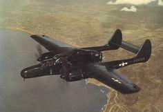 Northrop P-61B-10. 'Black Widow'.