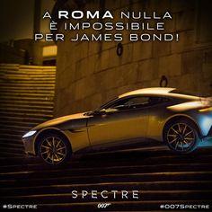 L'Aston Martin di James Bond come un Gladiatore a Roma: Invincibile! #SPECTRE #DanielCraig #ChristophWaltz #MonicaBellucci #movie #cinema #007 #film #azione #instalike 007 Spectre, Best Bond, Christoph Waltz, Daniel Craig, Monica Bellucci, James Bond, Aston Martin, Cinema, Film