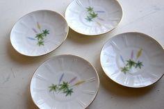 Winterling Roslau Bavaria Plates Vintage Floral Side Plates Dessert Aux Fruits, Side Plates, Service, Bavaria, Decoration, Vintage Floral, Bridesmaid Gifts, Drinking, Vintage Items