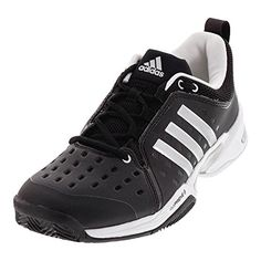 brand new d4af4 6d11a adidas Barricade Classic Wide 4E Tennis Shoe Core BlackMetallic SilverWhite  75 M US  Click for Special Deals AdidasFashion
