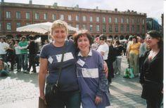 Avec Patricia Leleu, Responsable de l'association Laurette Fugain, antenne de Toulouse http://katiahacene.monsite-orange.fr http://www.facebook.com/katiahaceneecrivain  http://katiahacene.blog4ever.com