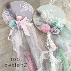 Just soft and sweet 💓custom made dream catchers #dreamcatcher #custommade #babystyle #babygirl #giftideas #bohostyling #bohostyle #littlegirlsroom #babyshower #evedeso #eventdesignsource - posted by Hoot DesignZ https://www.instagram.com/hootdesignz. See more Baby Shower Designs at http://Evedeso.com