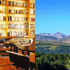 Biblioteca + montañas, ¡un buen plan!