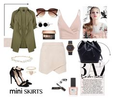 """""""Unbenannt #416"""" by wrappedinmauve ❤ liked on Polyvore featuring BCBGMAXAZRIA, STELLA McCARTNEY, Lacoste, Marc Jacobs, River Island, Bling Jewelry, ncLA, Bobbi Brown Cosmetics, Robert Rose and Accessorize"""