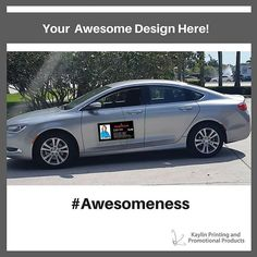 Turn Your Vehicle Into A Mobile Billboard With Customized Car - Custom car magnets oval   promote your brand