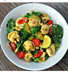 Pesto Tortellini Primavera.If you find it useful then please like and share. Follow me for more tips. Thank you.