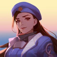 Overwatch Ana. https://twitter.com/asukaziye1/status/753555522620534784