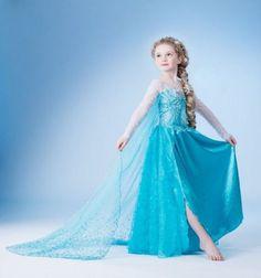 Eiskönigin Elsa Kleid