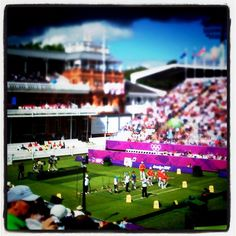 aeryfaery's photo  of London 2012 venue - Lord's Cricket Ground on Instagram