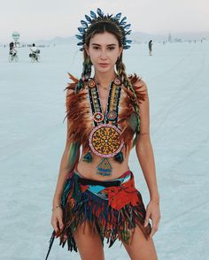 The Most Beautiful Girls of the Festival Burning Man 2017 - Best Photography, Ar. - The Most Beautiful Girls of the Festival Burning Man 2017 – Best Photography, Art, Landscapes and Animal Photography Estilo Burning Man, Burning Man Style, Burning Man Girls, Burning Man 2017, Burning Man Art, Burning Man Fashion, Coachella 2016, Festival Coachella, Festival Outfits