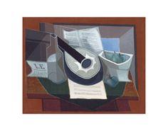 Gris - Composition à la guitare, 1925