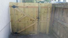 Gate built and installed