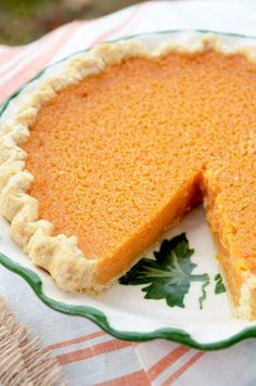 This twist on a classic Southern pie will have you begging for seconds! Buttermilk Sweet Potato Pie is sweet, citrusy and surprisingly easy to make! Sweet Potato Dessert, Paleo Sweet Potato, Sweet Potato Recipes, Sweet Potato Casserole Southern, Great Desserts, Köstliche Desserts, Delicious Desserts, Dessert Recipes, Dessert Bars