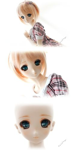 Dollfie Dream DDH-06, aww it's such a gentle face