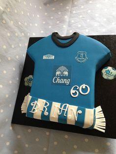 Everton Football Shirt Cake