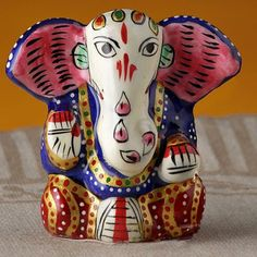 A splendid Diwali gift, this effigy of Lord Ganesha is a must have for your Puja room! http://www.fabfurnish.com/Aapno-Rajasthan-Yoga-Ganapati-Hand-Painted-Enameled- Metal-Figurine-77284.html #DiwaliDecor #FabFurnish