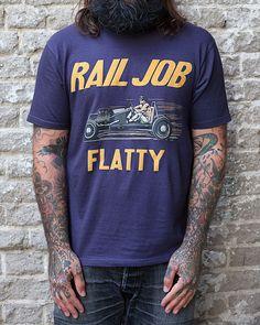 Freewheelers, Rail Job Flatty. (made in japan, desolation row)