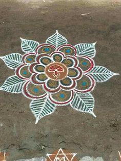 I made an account. Idk how to message you. If you make an account use tys Num personen malen Beautiful Rangoli Designs, Kolam Designs, Chalk Drawings, Art Drawings, Chalk Design, Rangoli Ideas, Flower Rangoli, Sidewalk Chalk Art, Hand Art