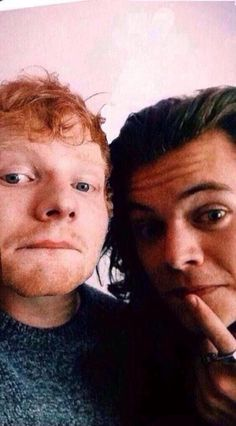 Besties! Ed Sheeran and Harry Styles. Follow rickysturn/harry-styles