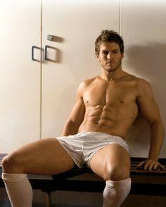 """David """"Wolfman"""" Williams, hot Aussie rugby player"""