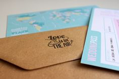 sobres craft kraft diy sell invitaciones de boda