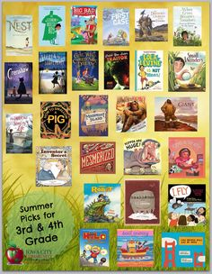 2016 list of great summer reads for 3rd-4th graders, selected by Teacher Librarians from the Iowa City Community School District. See the details here: https://www.goodreads.com/list/show/99532.Great_Summer_Reads_for_3rd_4th_Grade_2016