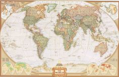 World map large detailed physical cloth poster 353 clubwear world map large detailed physical cloth poster 362 gumiabroncs Images