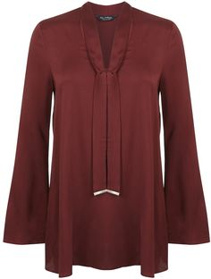 Womens brick red tunic from Miss Selfridge - £35 at ClothingByColour.com