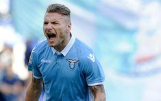 Scarica sfondi Ciro Immobile, 4k, calcio ed ex calciatore italiano, ritratto, Lazio, Italia, calcio