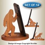 New Items - Cell Phone Amplifiers Pattern Cell Phone Stand, Cell Phone Holder, Clever Animals, Winfield Collection, Loudspeaker Enclosure, Animal Cell, Paint Supplies, Welcome Gifts, Wood Patterns